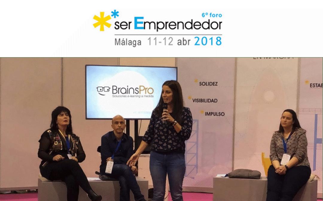 BrainsPro en el VI Foro Ser Emprendedor de Málaga