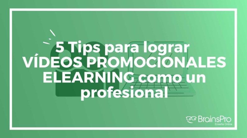 vídeos promocionales de formación online