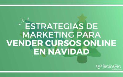 Estrategias de marketing para vender cursos online en Navidad