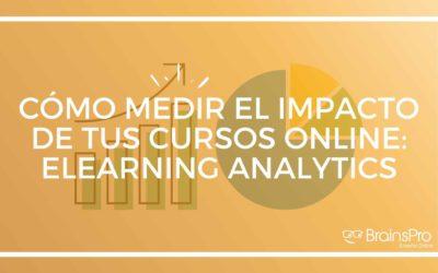 Cómo medir el impacto de tus cursos online | Elearning analytics
